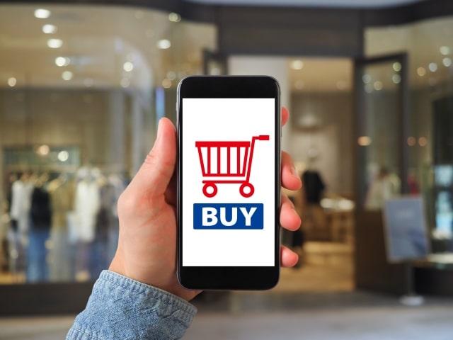 Yahoo!ショッピングや楽天などのオンラインショッピングが優勢の画像