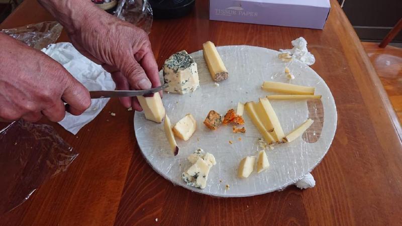 ラッテバンビーノ のチーズ