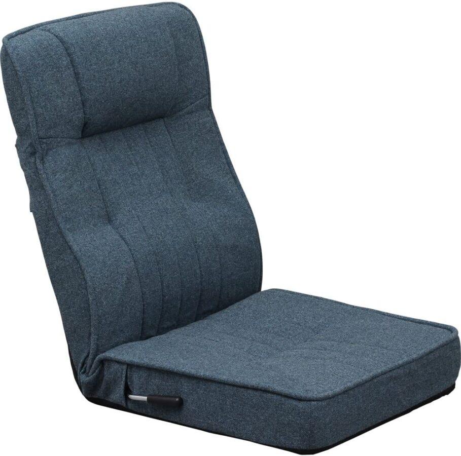在宅勤務(テレワーク)におすすめな座椅子・ハイバック座椅子 アイリスプラザ 快適 使い心地がいい 使う