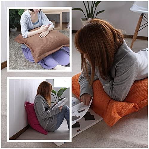 様々な姿勢で使えるジャンボクッション 在宅勤務 テレワーク クッション おすすめ 快適 腰痛 長時間 仕事 在宅 プライベート ソロ 一人 自分用 安い