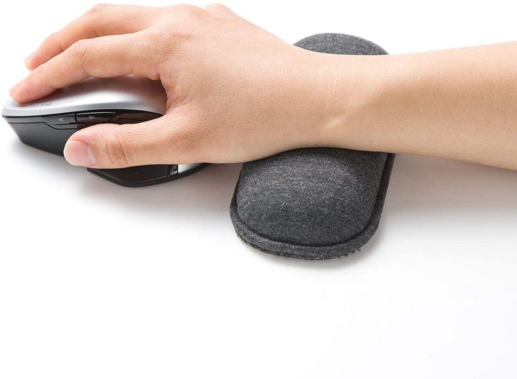 サンワサプライ クッションリストレスト 手首 パソコン マウス 疲れ