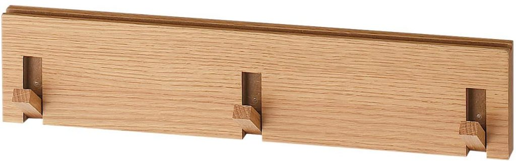 無印良品 壁に付けられる家具 3連 ハンガー フック ひっかける インテリア 便利 寝室 玄関