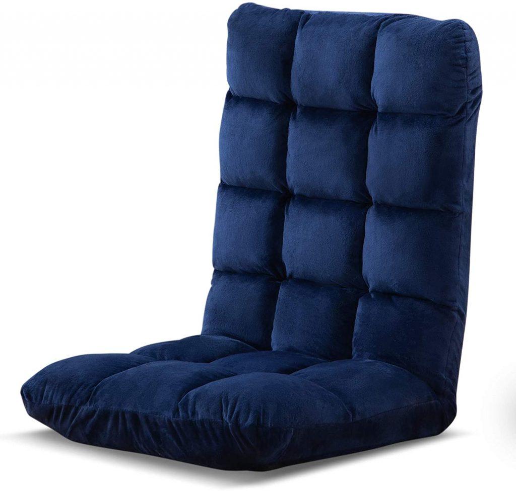 在宅勤務(テレワーク)におすすめな座椅子 低反発ウレタン フワフワ 腰痛 対策 高級感 さわりこごちがいい