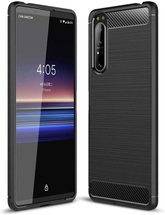 xperia 1 II so-51a docomo ケース TPU Function 保護 Xperia1II xperia1 II カバー シンプル 衝撃 ソフトケース 吸収 エクスペリア1マークツー エクスペディア スマホケース ケータイケース かわいい 携帯カバー 携帯ケース