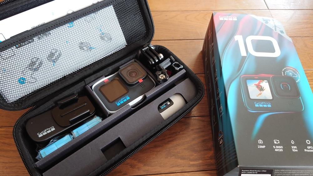 GoPro Hero10 Black 開封 箱 中身 カメラ